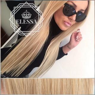 Луксозен Комплект Натурално Удължение / Кичурен Екстеншън - HAIR EXTENSIONS ELESSA *190 грама