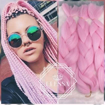 Colored Crochet Braids Kanekalon Hair * 300 grams - 120 cm