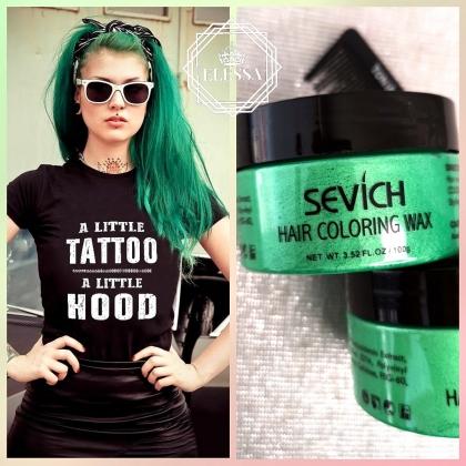 Професионална Стилизираща Зелена Вакса HAIR COLORING WAX PROFESSIONAL - GREEN