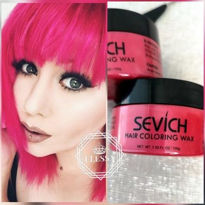 Професионална Стилизираща Розова Вакса HAIR COLORING WAX PROFESSIONAL - RED ROSE