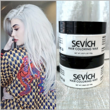 Професионална Стилизираща Снежно Бяла Вакса HAIR COLORING WAX PROFESSIONAL - WHITE