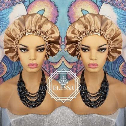 Bonnet Turban / Hats, Womens Night Sleeping Cap Head Wrap Silk Satin Bandana Chemo Cap Head for Hair Loss patients